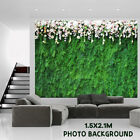 5ft x 7ft Photo Background Hanging Cloth Green Grass Wedding Party Decoration