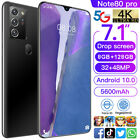 7.1'' 8G 128G NOTE80 PRO Android 10.0 Mobile Smart Phone Dual SIM Card 5600mAh