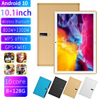10.1 Inch 4g Android 10 Tablet Pc 8+128g Octa Core Camera Wifi Gps Dual Sim