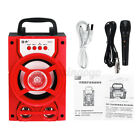 5.1inch Pro 5W USB Portable Subwoof LED bluetooth Party Speaker Party Stereo New