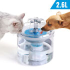 Pet Water Fountain 2.6L Automatic Quiet Water Dispenser for Cats Dogs  2 Modes