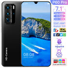 7.1'' P60 PRO Android 10.0 Smart Phone 8G 128G Dual SIM Card 32MP 48MP Deca Core