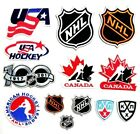 Hockey Sport Patches Logos Iron on, Sewing on Clothes