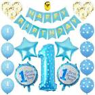Best For Baby Boys Girls First 1st Birthday Party Home Decor Happy Balloons Set