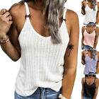 Plus Size Ladies Strappy Vest Cami Tops Summer Baggy Camisole T-Shirt Blouse Tee