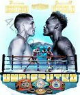 Jermell Charlo vs Brian Castano 4LUVofBOXING wall art New Boxing Poster