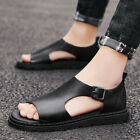 Mens Open toe Slip on Hollow out Flats Casual Sports Summer Beach Sandals Shoes