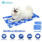 Gel Cooling Mat Summer Self-Cooling Pad Heat Relief Gel Mat for Dogs Cats Puppy