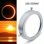 Silver 100 200mm Solar Filter Baader Film Metal Cover For Astronomical Telescope
