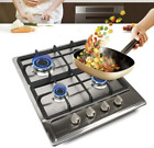 Gas Cooktop NG/LPG Gas Stove Cooktop Stove Burner Tempered Glass Cook Top Built