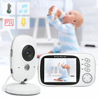2.4G Wireless Baby Monitor Indoor Home Security Camera Night Vision 2-Way Audio