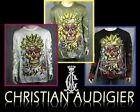Christian Audigier L sleeve Sugar Skull Stone t shirt
