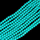 "6mm Blue Turquoise Beads 15.5""(wholesale 10 strands)"