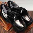 New Designer Mens Leather Oxfords Dress Shoes All Size