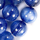 10mm A+++ Natural Kyanite Round Beads 15.5""