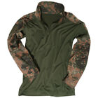 ARMY TACTICAL UBACS MENS COMBAT SHIRT AIRSOFT PAINTBALL BW FLECKTARN CAMO S-3XL