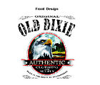 OLD DIXIE T-SHIRT EAGLE MADE IN THE SOUTH 10589