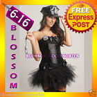 BC35 Police Cops Fancy Dress Costume Corset Tutu S-XL