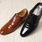 New Leather Luxury Dress Lace Up Mens Shoes