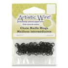 CHAIN MAILLE RINGS BLACK-Mail/Jump Ring-18 or 20 Gauge