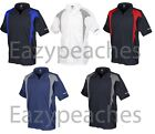 REEBOK GOLF NEW Mens Size S-XL 2XL 3XL 4XL 5XL ColorBlock Dri Fit Polo Shirts