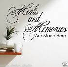 WALL STICKER / WALL QUOTE / Kitchen Wall Quote Sticker , 3 Sizes Availible N20