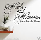 WALL QUOTE STICKER Kitchen Wall Quote WALL QUOTE WALL ART  N20