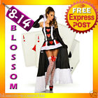 New Queen Of Hearts Alice In Wonderland Ladies Costume