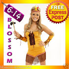 881 Native American Pocahontas Indian Wild West Costume