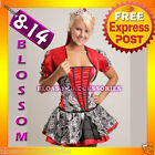 BL2 Ladies Queen of Hearts Alice In Wonderland Costume