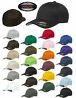 Flexfit - 5001, V-Flex Cotton Twill Fitted Baseball Cap Blank Plain Hat S/M L/XL