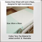 Caress Draw Sheets & Tuck in Flaps, Light Incontinence