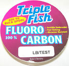 Внешний вид - TRIPLE FISH 100% FLUOROCARBON LINE 600 YARD SPOOL CLEAR