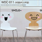 CUTE SMILE Wall Decor Art Vinyl Sticker Decal VG-011