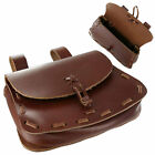 Внешний вид - Leather Medieval Belt POUCH for Rennie Faire Pirate SCA LARP Festival Bag Viking