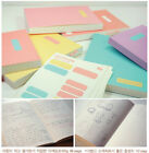 WM Line + Blank Note Notebook with Index Sticker