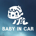 New Car Window Signs Decals Adhesive Sticker _ Baby in Car Ver.1