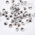 Silver Plated Clear Diamond Confetti Wedding Party Table Scatter Decoration
