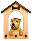 Adult Norfolk Terrier Dog House Leash Holder.In Home Wall Decor Products & Gifts