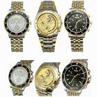 Attractive Men's Luxury Stainless Steel Band Round Dial Quartz Wrist Watch New