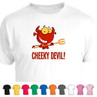 Cheeky Red Devil Cute Funny T-Shirt