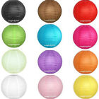 10pcs Optional-Colors Paper Lanterns Lamps Wedding Decorations 8""