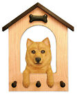 Finnish Spitz Dog House Leash Holder. In Home Wall Decor Wood Products & Gifts.