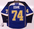 TJ OSHIE ST LOUIS BLUES REEBOK PREMIER HOME JERSEY NEW WITH TAGS