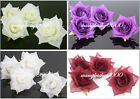 20pcs silk flower rose heads many-color available wedding decoration favors 7cm