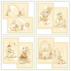 Flower-Soft CHARLIE'S ARK SEPIA CARD TOPPERS-Card Making/Cardmaking-Paper Craft