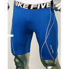 Take Five Mens Compression 048 Sports Under Layer Short Pants Blue
