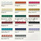 5mm Barley Twist Rope Cord - Choose your Colour and Length 2,5,10 and 20 Metres