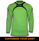 Lotto adult size football soccer goalkeeper goalie shirt green