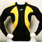 New Limited baselayer COMPRESSION skin tights top S~2XL sports shirt Black